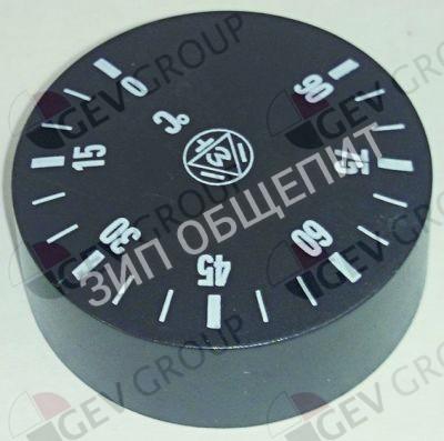 Рукоятка регулировочная Dihr для BM100 / BM200 / BM300 / GASTRO-500 / GASTRO-750