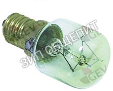 Лампа накаливания Pizza Group, 15Вт, 300 °C, для лампы духового шкафа