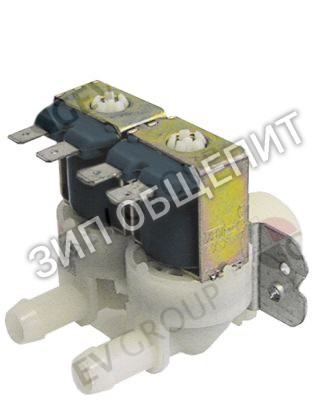 Клапан электромагнитный Angelo-Po, прямой, двойн.