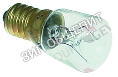 Лампа накаливания Pizza Group, IMPORT, 15Вт, 300 °C, для лампы духового шкафа