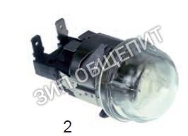 Лампа в сборе 20594 для духового шкаф SMEG Alpha 40GX Alfa 41 Alfa 51X Alfa 55X Alfa 61X Alfa 100X Alfa 130X