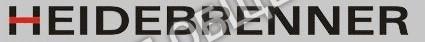 "Логотип ""Heidebrenner"" 93967 для лавового гриля Heidebrenner модели ETK-BP2"