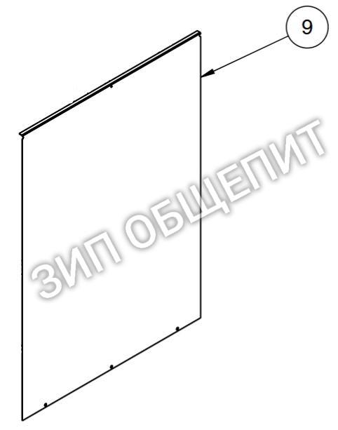 Боковая стенка 5015081 для коптильни Alto-Shaam модели 500-TH-II