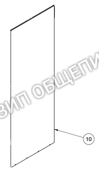 Боковая стенка 5015105 для коптильни Alto-Shaam модели 1000-TH-I